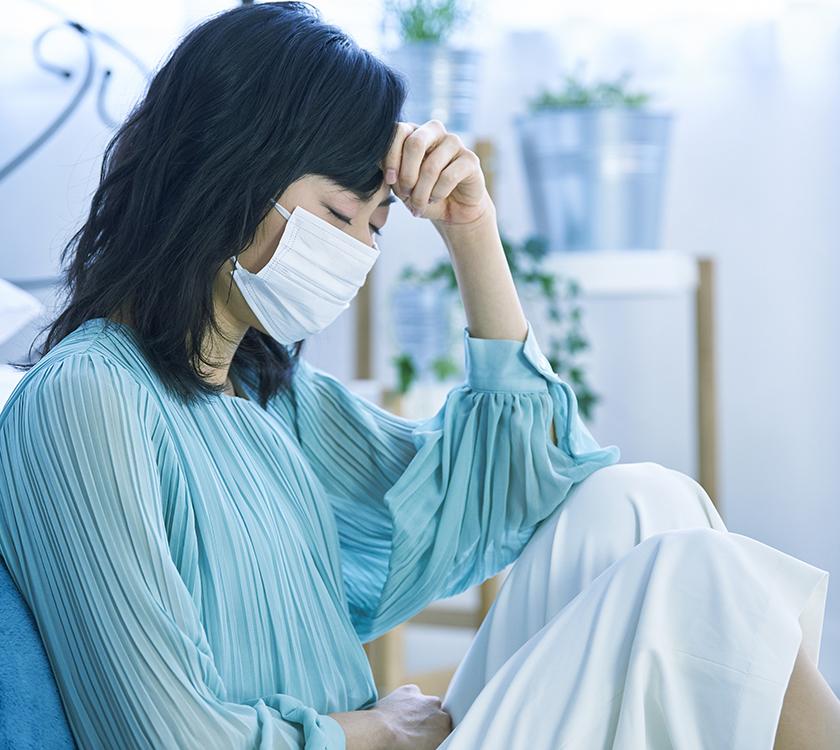 コロナウイルスの疑いがある場合、診察が受けられません