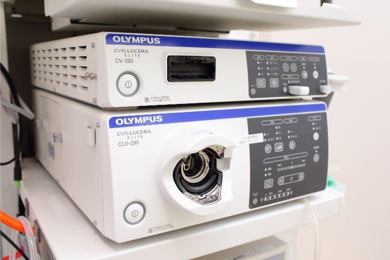 オリンパスの最新内視鏡システムを導入