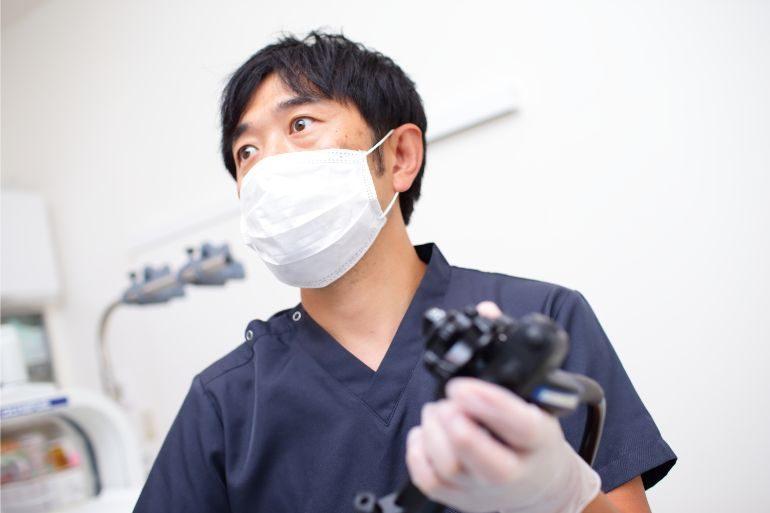 内視鏡の検査・手術はすべて内視鏡専門医・指導医が行います
